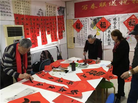 我们的节日春节,「我们的节日·春节」青岛市北区四方街道妙笔迎春送祝福