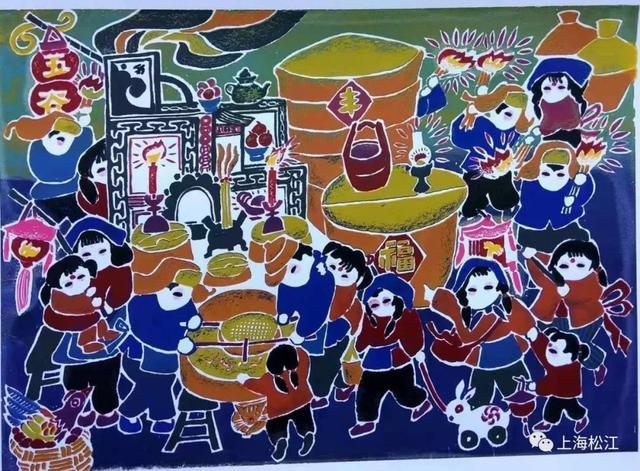 上元节是什么节日,走三桥、玩花灯、放野火,老底子的松江人这样过元宵