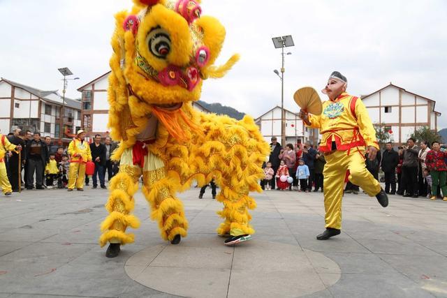 节日图片,多图丨宜宾兴文,苗乡群众多彩活动闹元宵