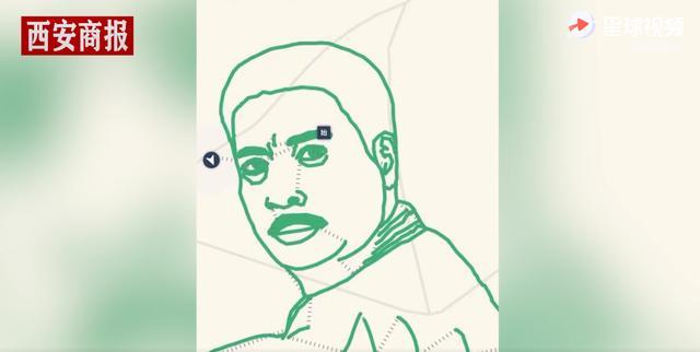 致敬!32岁听障小伙用跑步轨迹画吴孟达,为儿时偶像送行 全球新闻风头榜 第4张