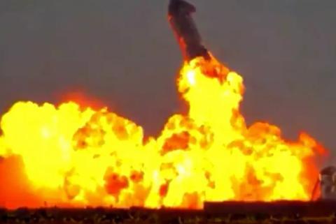 SpaceX当日取得成功完成飞到火花的星际飞船全新检测