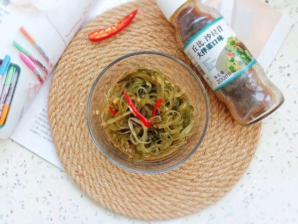 海藻的吃法,#321沙拉日#开胃香辣海藻丝