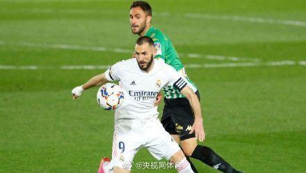 阿扎尔复出 皇马0-0贝蒂斯距马竞2分 全球新闻风头榜 第1张