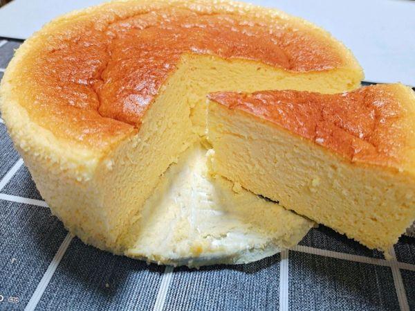 芝士蛋糕的做法,爆好吃!吃这菜酸奶芝士蛋糕,米饭你得多备点