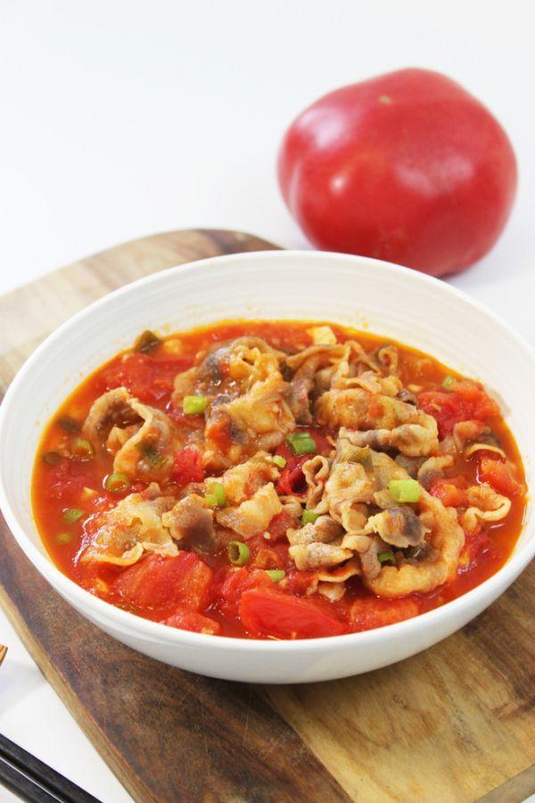 肥牛的吃法,快手下饭菜--番茄肥牛