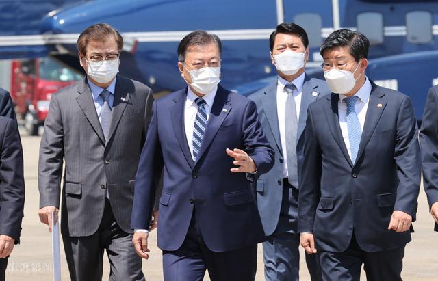 韩国总统文在寅今日启程访美 5月22日将会晤拜登 全球新闻风头榜 第4张