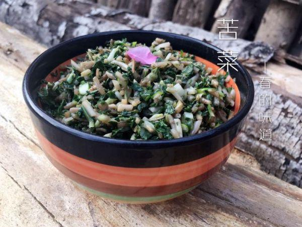 苦菜的吃法,野生凉拌苦菜最好吃的做法,就在这里了