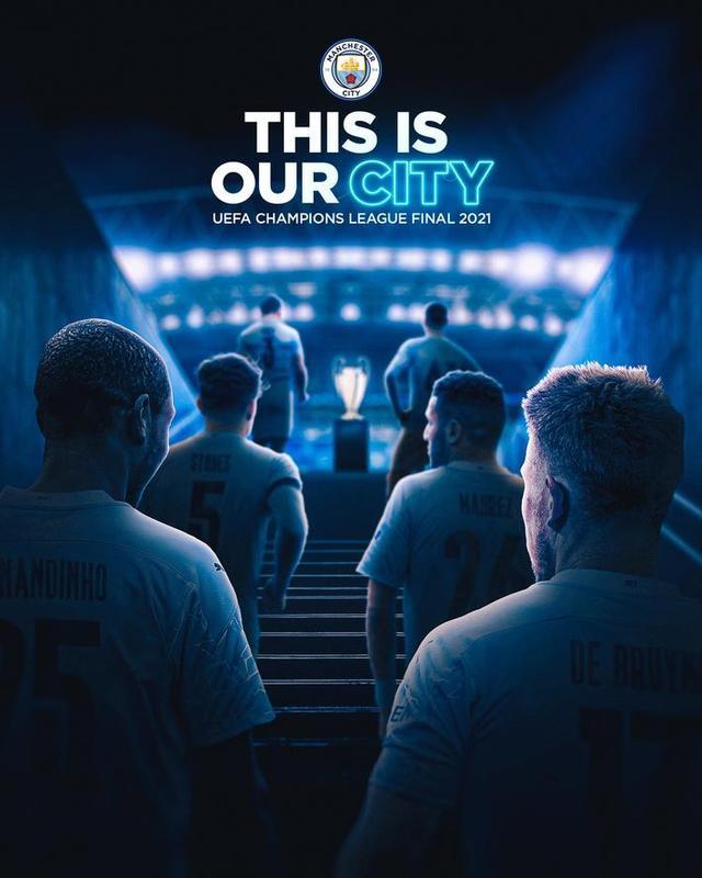切尔西、曼城发布欧冠决赛海报,大战一触即发 全球新闻风头榜 第2张