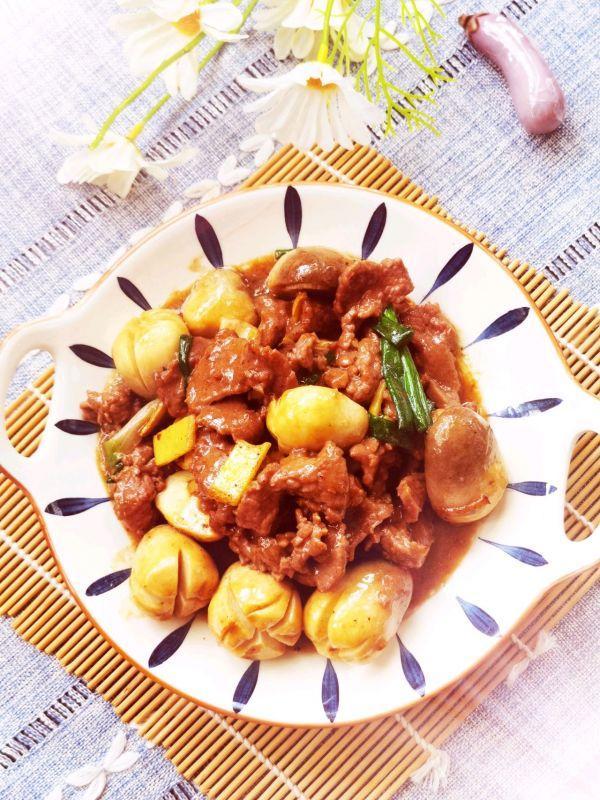草菇的吃法,家常菜~~~草菇炒牛肉