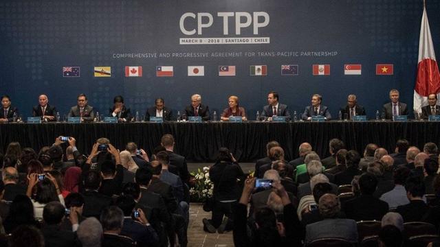 台申请加入CPTPP 大陆:坚决反对其加入官方性质的协议和组织