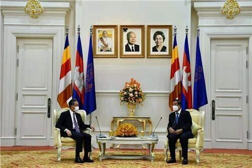 王毅访问柬埔寨,首相洪森:柬虽是小国,但不会在压力下退缩 全球新闻风头榜 第2张