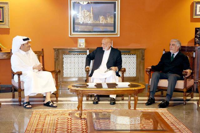 俄媒:阿富汗前总统及民族和解高级委员会主席会见卡塔尔外交大臣 全球新闻风头榜 第1张