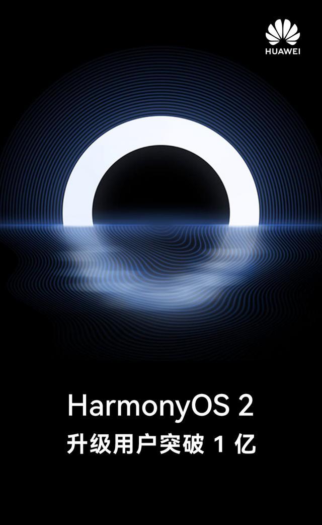 华为余承东:HarmonyOS 2升级用户数突破1亿