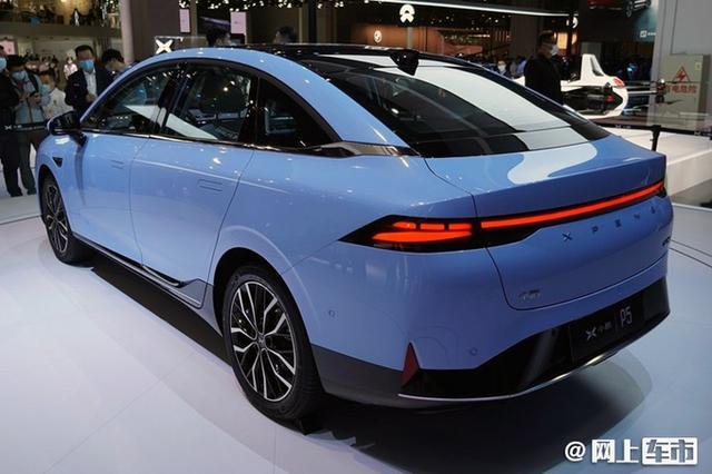 小鹏P5正式上市,售价15.79-22.39万元,最大续航600km