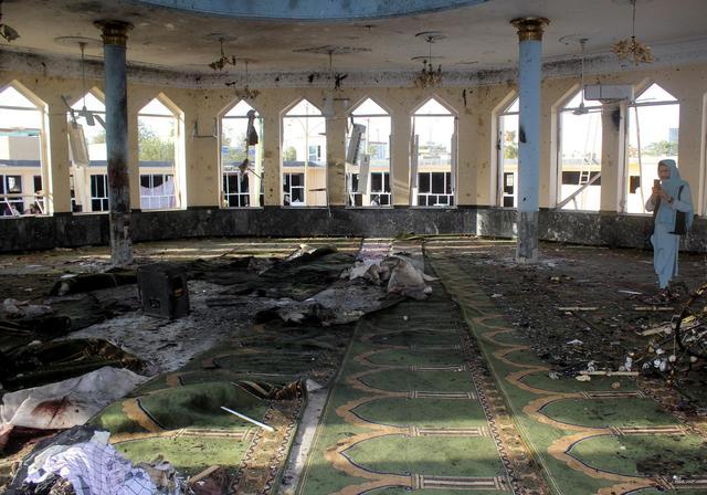 阿富汗昆都士一清真寺发生爆炸