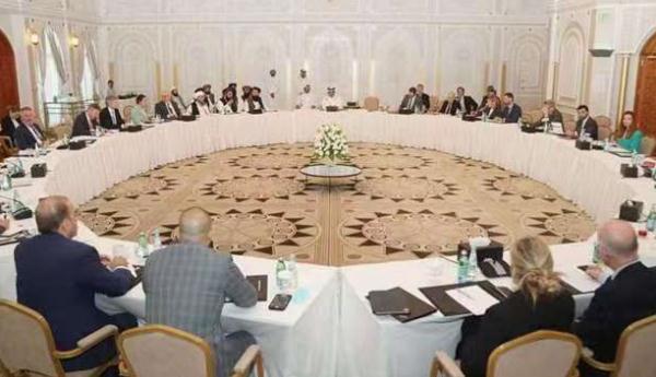 阿富汗塔利班与欧盟在多哈举行会谈 全球新闻风头榜 第1张