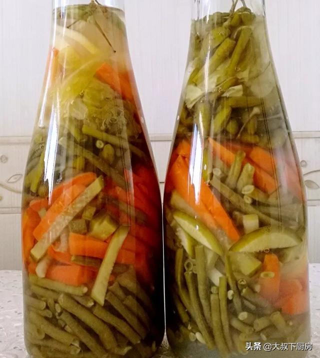 做酸菜怎么做,秋季开胃小菜,大叔教你自制泡菜,酸爽开胃,简单易学,家人爱吃
