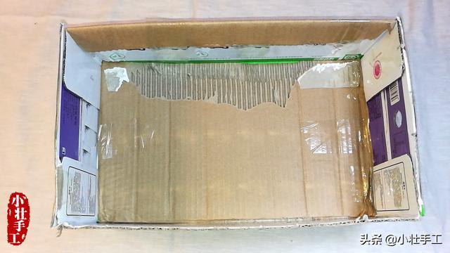 怎么做纸箱,孩子在网上买了蚕宝宝养大,做了结茧的房子,也可以做收纳盒用