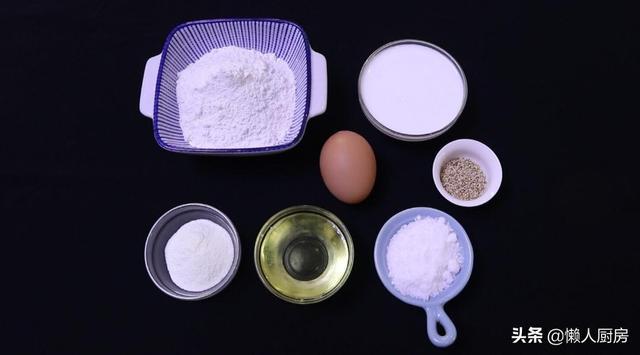 蛋卷的做法,蛋卷不用买着吃,平底锅也能做出香酥的蛋卷,轻轻一捏就碎