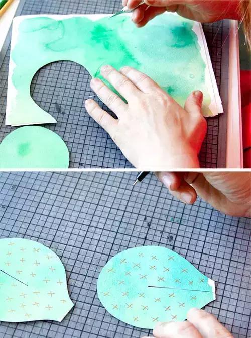 卡纸怎么做,「手工」幼儿园折纸手工