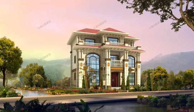 楼房图片,6款高端大气欧式别墅设计图,第三款自建房饱受争议