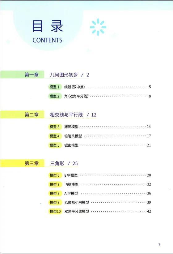 老师有大招,初中数学48个模型总结