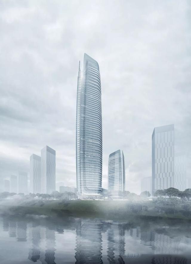 宜宾市管理中心设计效果图