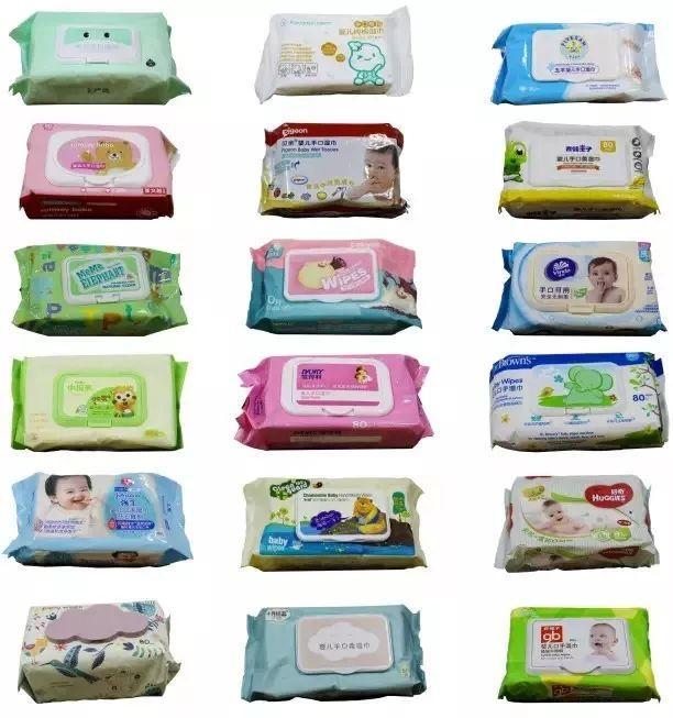 婴儿口手湿巾,5款知名品牌湿巾被爆含甲醛,真的不敢给宝宝用吗?
