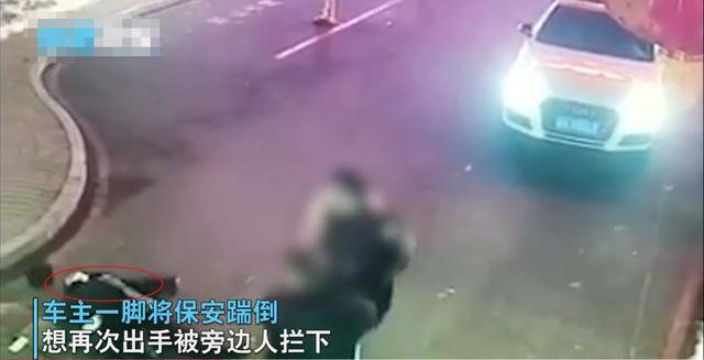 吉林一小区保安拦截外来车辆,遭车主多次爆踹,监控画面曝光 全球新闻风头榜 第2张