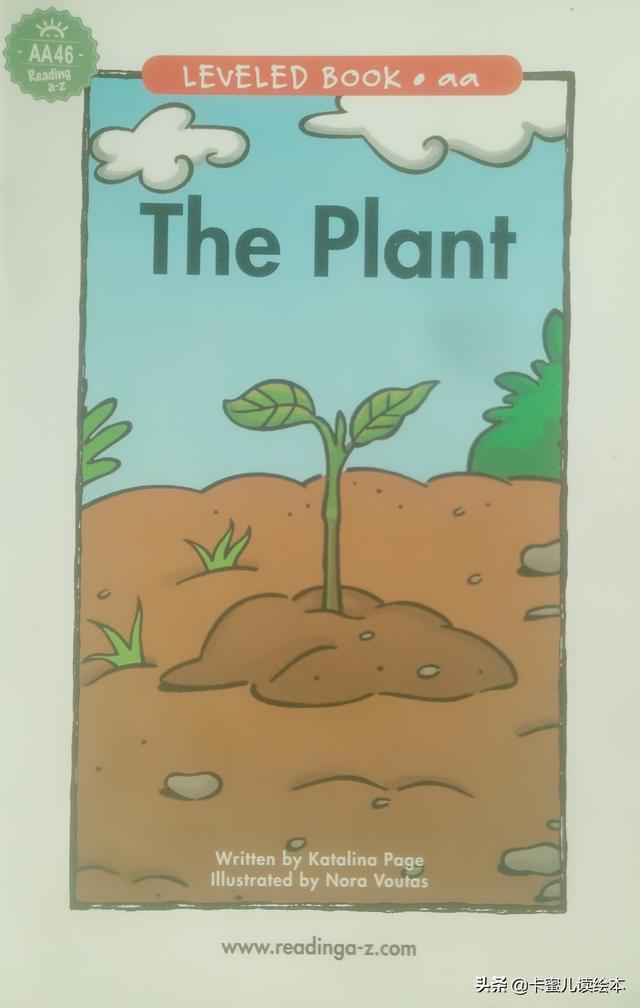 英文有声绘本故事《The Plant》