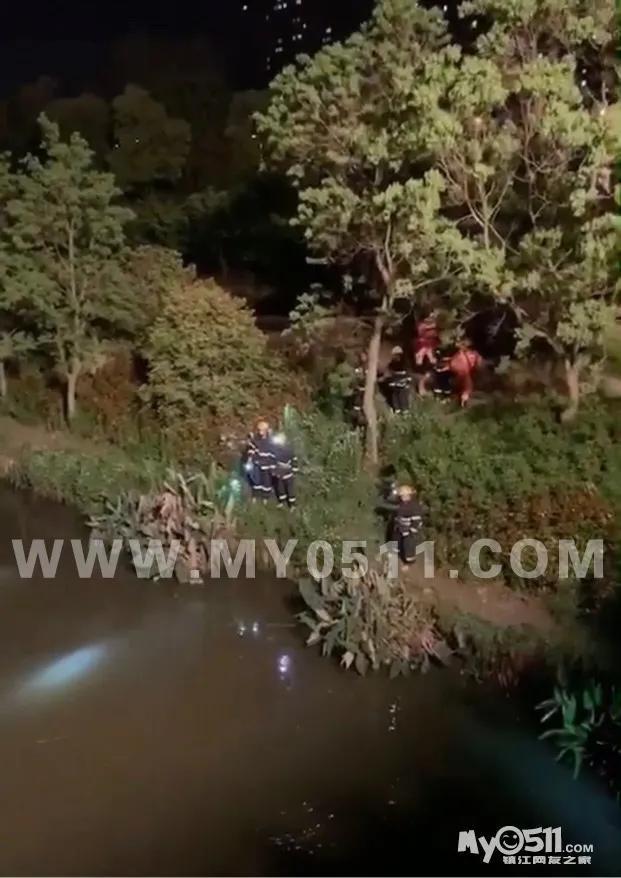 江最新消息,昨夜!镇江江大附近有人坠河