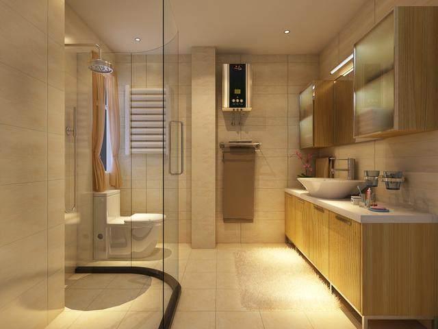 洗手间装修效果图,卫生间别再费钱单独装淋浴房了,聪明人都是这样设计,太聪明了