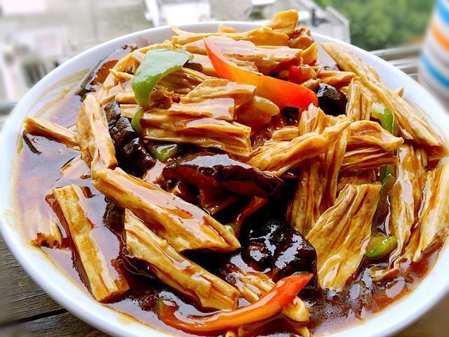 腐竹的做法,一把腐竹19种做法,竟然每一种都好吃,家人超喜欢!