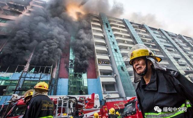 火灾图片,缅甸第一大城市仰光连发大型火灾,以下是现场图片