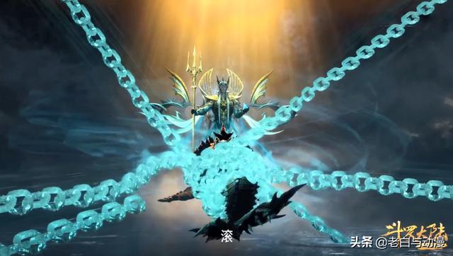 斗罗大陆动画片全集,斗罗大陆:唐三梦到没有海神的结局,伙伴领便当,还被吃了