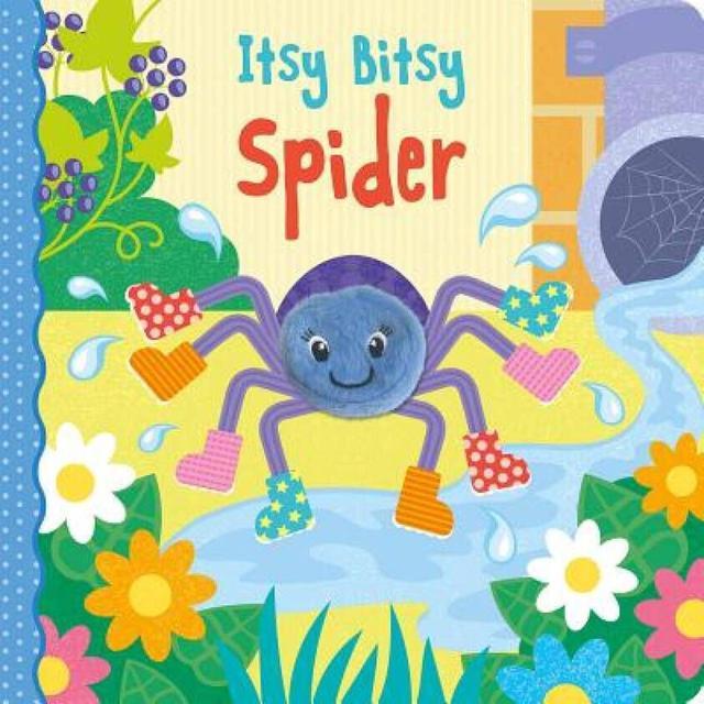 儿童英语启蒙童谣 The Itsy Bitsy Spider