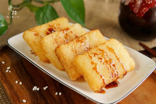 糯米糍的做法,原来做糍粑年糕这么简单,会蒸米饭就行,想吃多少做多少