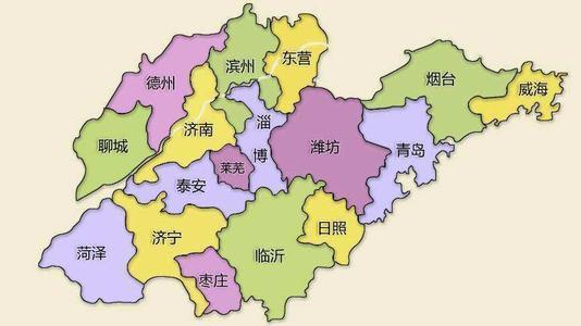 烟台景点,中国行政区划——山东省烟台市