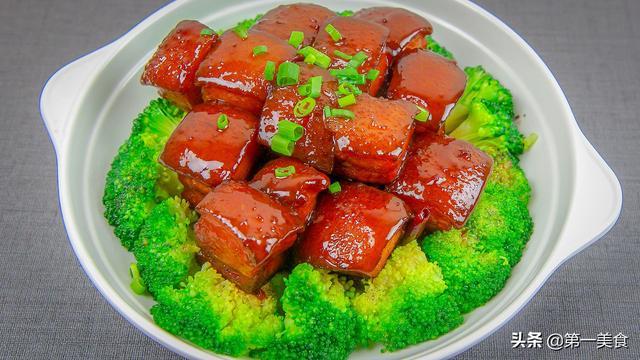 烧肉怎么做,红烧肉怎么做更好吃?大厨分享红烧肉肥而不腻方法,秘诀这么简单