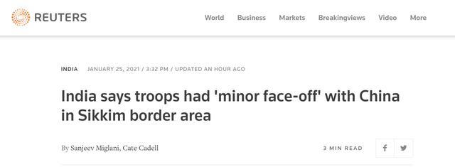 印军方辟了印度媒体的谣!印陆军:中印是小规模对峙,已解决