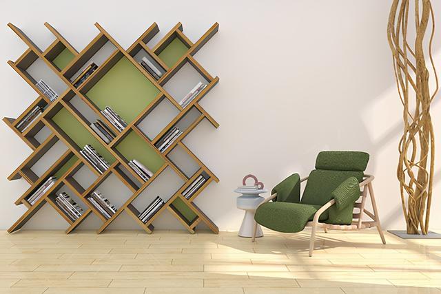 书房装修效果图,现代简约风格书柜有哪些比较好看 现代书柜设计效果图展示