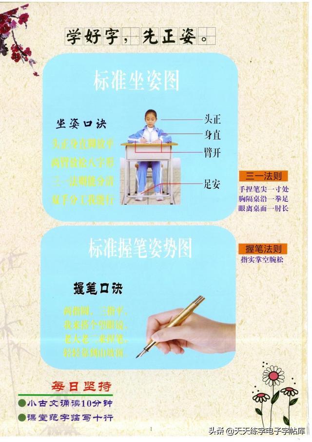 韵母有哪些字母,幼小衔接练字课:双姿拼音数字声母韵母英文字母简单汉字笔画笔顺