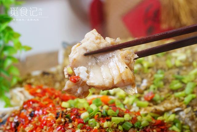 剁椒鱼头的做法,做剁椒鱼头,掌握3个小窍门,香辣不腥,鱼肉滑嫩,不用去饭店了
