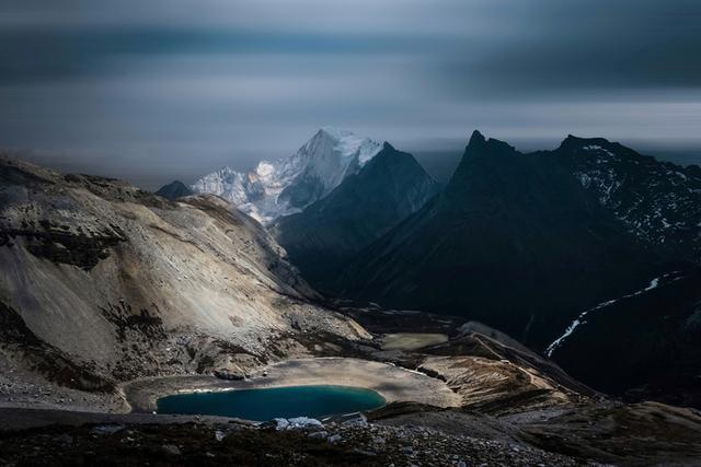 风景图片,稻城亚丁有多美,看看十位摄影师镜头下的风景
