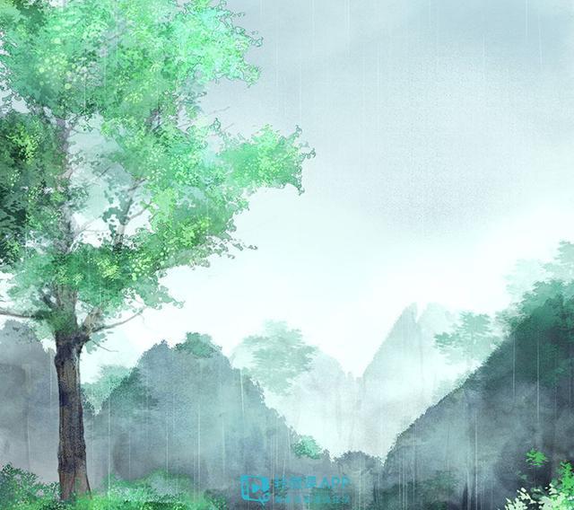 树的漫画,动漫画的树怎么画?零基础画树教程