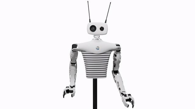 vr机器人,法国创企使用VR设备远程操控机器人