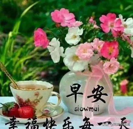 送给祝福语,最新版早晨问候朋友暖心句子 幸福暖心的早上好动态美图送给大家