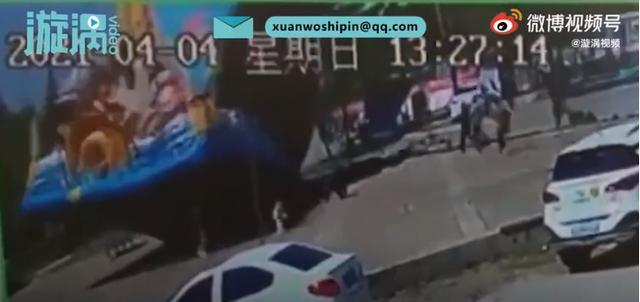 山东一充气城堡被吹翻致1女童身亡,警方介入调查