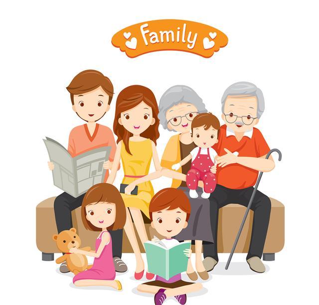 一家人温馨的句子简短,家庭经典句子,家庭稳定,才有家庭幸福……记得转发