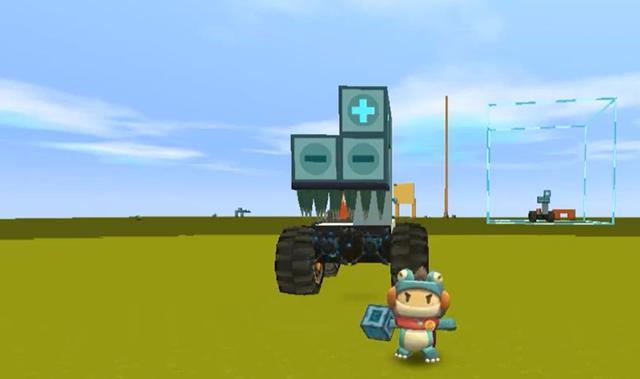 迷你世界怎么做车,迷你世界:建造一辆地刺抓怪车,以后再也不用担心野人袭击了